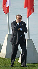 Berlusconi-telefona