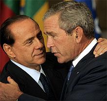 Berlusconi-bush