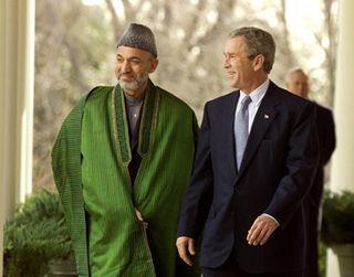 Karzai-bush