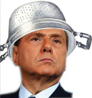 Berlusconi-scolapasta