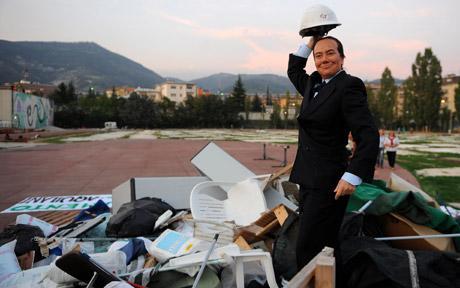 Berlusconi-draquila-telegraph