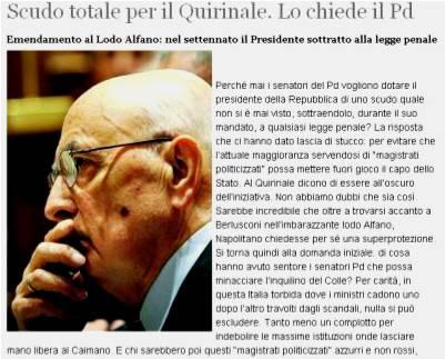 Napolitano-fatto