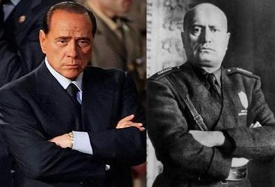 Berlusconi-mussolini