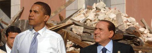 Berlusconi-obama-laquila