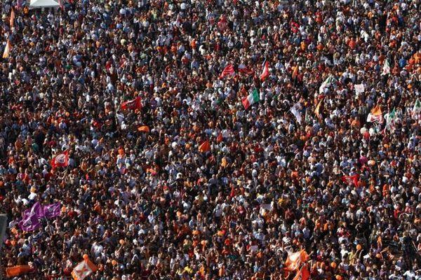 Folla-milano