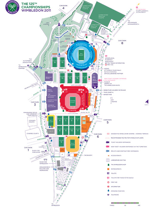 Wimbledon-map