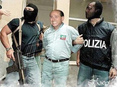 Berlusconi-arrestato