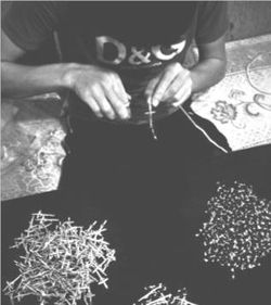 Rosari-lavorazione