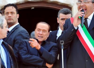 Berlusconi-nano-lampedusano