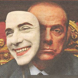 Berlusconi-maschera