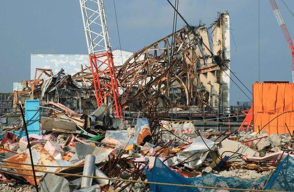 Fukushima-rottami