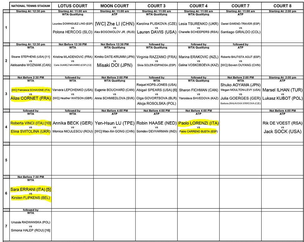 Schema Elettrico Per Tabellone Segnapunti : Schema tabellone tennis vuoto fare di una mosca