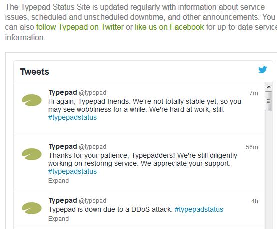 Typepad-status