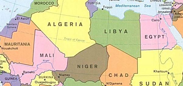 Africa a quadretti