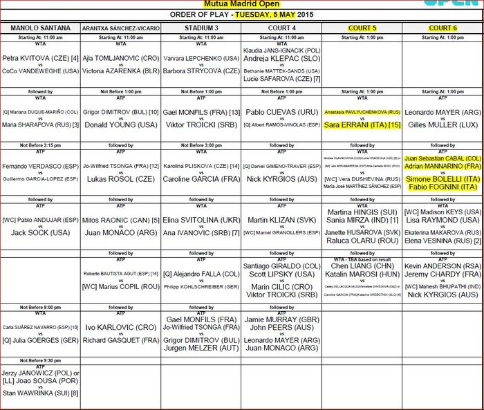 Schedule-5-maggio