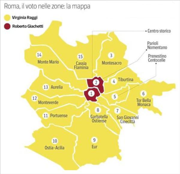 Roma-distretti