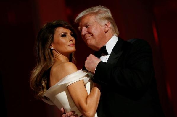20201208-Melania e Donald Trump