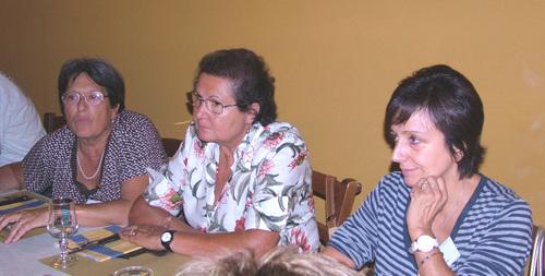 Marisa, Wanda e Annarosa